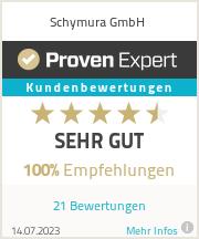Erfahrungen & Bewertungen zu Schymura GmbH