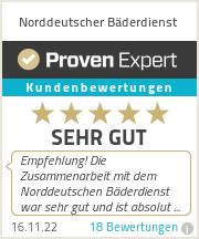 Erfahrungen & Bewertungen zu Norddeutscher Bäderdienst