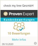 Erfahrungen & Bewertungen zu check my tree GesmbH