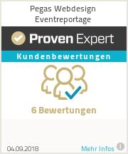 Erfahrungen & Bewertungen zu Pegas Webdesign Eventreportage