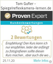 Erfahrungen & Bewertungen zu Tom Gufler - Spiegelreflexkamera-lernen.de