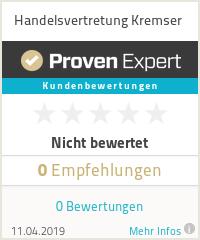 Erfahrungen & Bewertungen zu Handelsvertretung Kremser