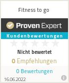 Erfahrungen & Bewertungen zu Fitness to go