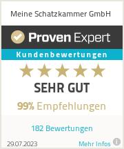 Erfahrungen & Bewertungen zu Meine Schatzkammer GmbH