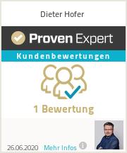 Erfahrungen & Bewertungen zu Dieter Hofer