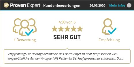 Kundenbewertungen & Erfahrungen zu Dieter Hofer. Mehr Infos anzeigen.