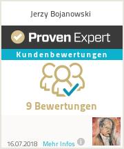 Erfahrungen & Bewertungen zu Jerzy Bojanowski