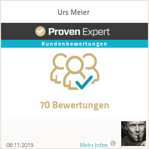 Erfahrungen & Bewertungen zu Urs Meier