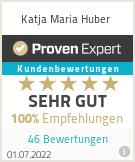 Erfahrungen & Bewertungen zu Katja Maria Huber