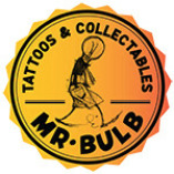 Mr. Bulb Tattoos & Collectables