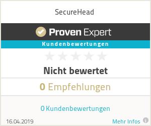 Erfahrungen & Bewertungen zu SecureHead