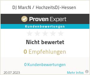 Erfahrungen & Bewertungen zu DJ MarcN / HochzeitsDJ-Hessen