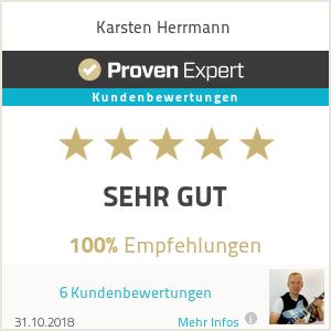 Erfahrungen & Bewertungen zu Karsten Herrmann