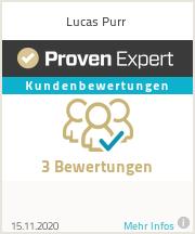 Erfahrungen & Bewertungen zu Lucas Purr