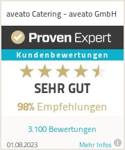 Erfahrungen & Bewertungen zu aveato Catering - eatat System AG