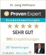 Erfahrungen & Bewertungen zu Dr. Joerg Hoffmann