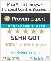 Erfahrungen & Bewertungen zu Mati Ahmet Tuncöz - Personal Coach & Business Coach + Trainer & HP Psychotherapie