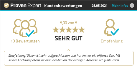 Kundenbewertungen & Erfahrungen zu Simon Kolb. Mehr Infos anzeigen.