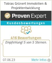 Erfahrungen & Bewertungen zu Tobias Grünert Immobilien & Projektentwicklung