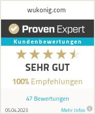 Erfahrungen & Bewertungen zu wukonig.com