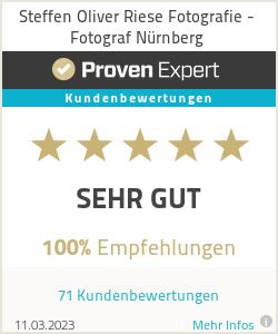 Erfahrungen & Bewertungen zu Steffen Oliver Riese Fotografie - Fotograf Nürnberg