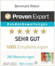 Erfahrungen & Bewertungen zu Bernhard R�der