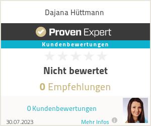 Erfahrungen & Bewertungen zu Dajana Hüttmann