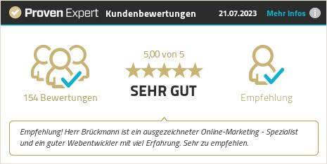 Kundenbewertungen & Erfahrungen zu Albert Brückmann, zählpixel.com. Mehr Infos anzeigen.