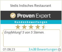 Erfahrungen & Bewertungen zu Vedis Indisches Restaurant