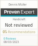 ProvenExpert-Profil von Dennis Müller anzeigen