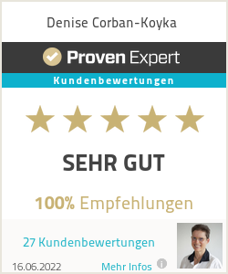 Erfahrungen & Bewertungen zu Denise Corban-Koyka