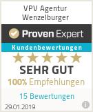 Erfahrungen & Bewertungen zu VPV Agentur Wenzelburger