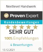 Erfahrungen & Bewertungen zu Nextlevel Handwerk