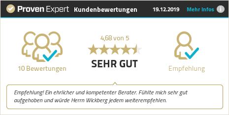 Kundenbewertungen & Erfahrungen zu Ilja Wickberg. Mehr Infos anzeigen.