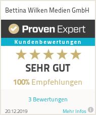 Erfahrungen & Bewertungen zu Bettina Wilken Medien GmbH