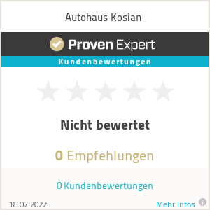 Erfahrungen & Bewertungen zu Autohaus Kosian