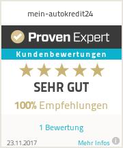 Erfahrungen & Bewertungen zu mein-autokredit24