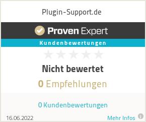 Erfahrungen & Bewertungen zu Plugin-Support.de