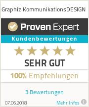 Erfahrungen & Bewertungen zu Graphiz KommunikationsDESIGN