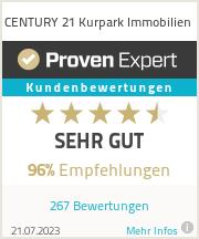 Erfahrungen & Bewertungen zu CENTURY 21 Kurpark Immobilien
