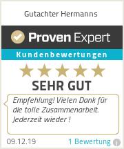 Erfahrungen & Bewertungen zu Gutachter Hermanns