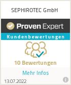 Erfahrungen & Bewertungen zu SEPHIROTEC GmbH
