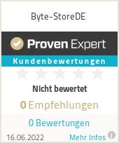 Erfahrungen & Bewertungen zu Byte-StoreDE