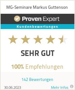 Erfahrungen & Bewertungen zu MG-Seminare Markus Guttenson