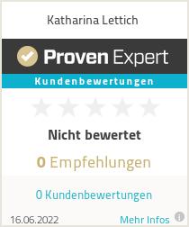 Erfahrungen & Bewertungen zu Katharina Lettich