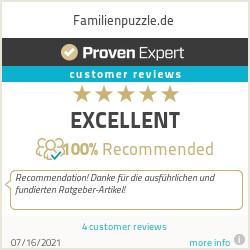 Ratings & reviews for Familienpuzzle.de