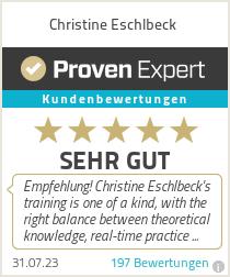 Erfahrungen & Bewertungen zu Christine Eschlbeck