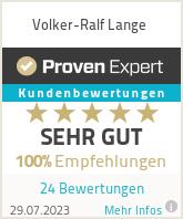 Erfahrungen & Bewertungen zu Volker-Ralf Lange