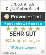 Erfahrungen & Bewertungen zu L.N. Schaffrath DigitalMedien GmbH