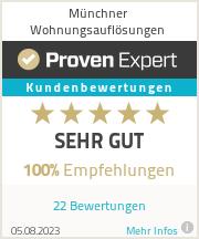 Erfahrungen & Bewertungen zu Münchner Wohnungsauflösungen